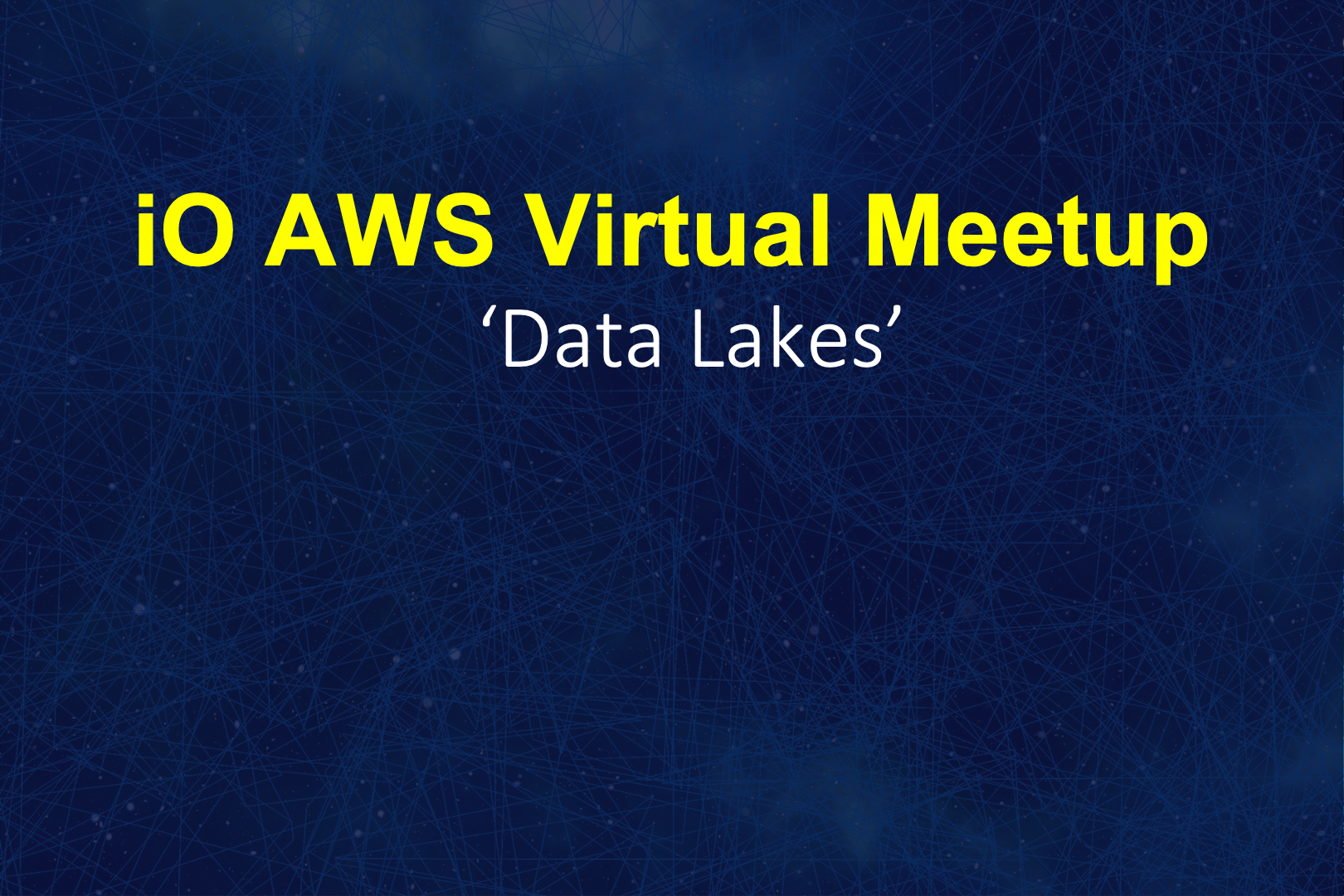 Aws Data Lakes Graphic